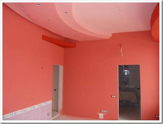Краска не тот цвет стены