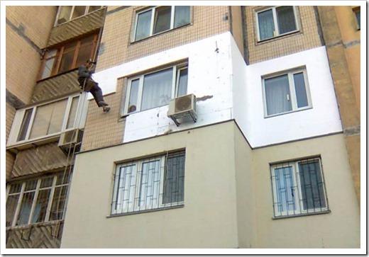 Как утеплить стену снаружи пенопластом?
