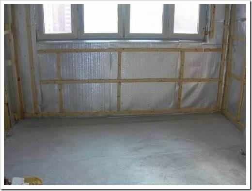 Как утеплить стену внутри квартиры?
