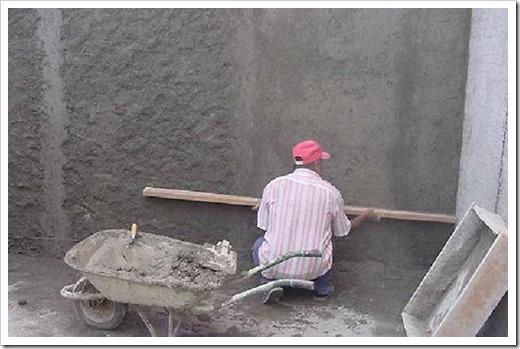 Как выровнять бетонную стену?