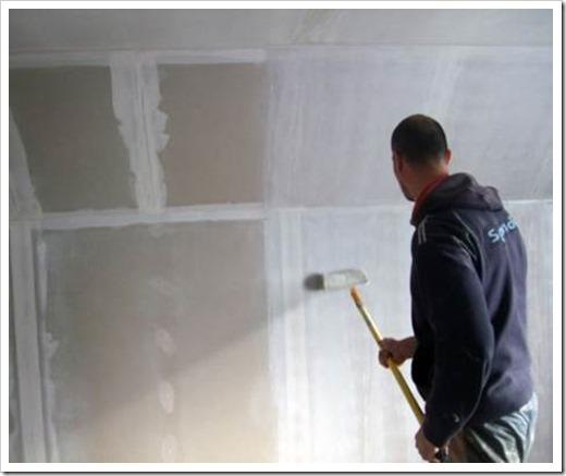 Как грунтовать стены под покраску?