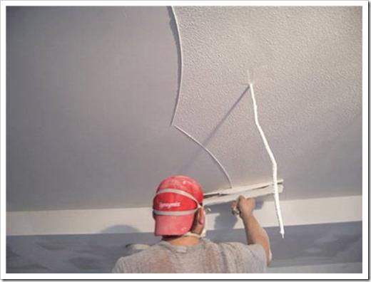 Каким шпателем шпаклевать потолок?