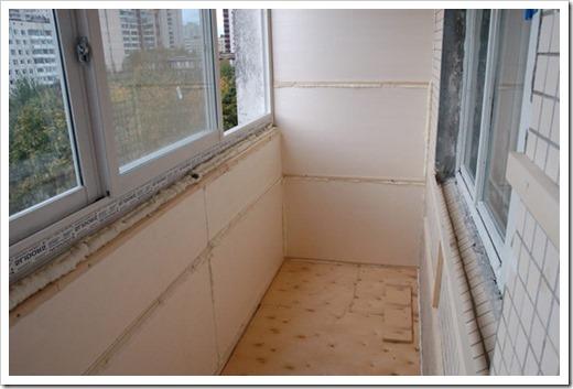 Как сделать перегородку на балконе?
