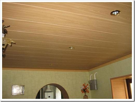 Как обшить потолок панелями МДФ?