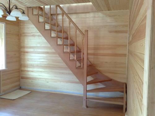Лестницы на второй этаж своими руками на тетиве