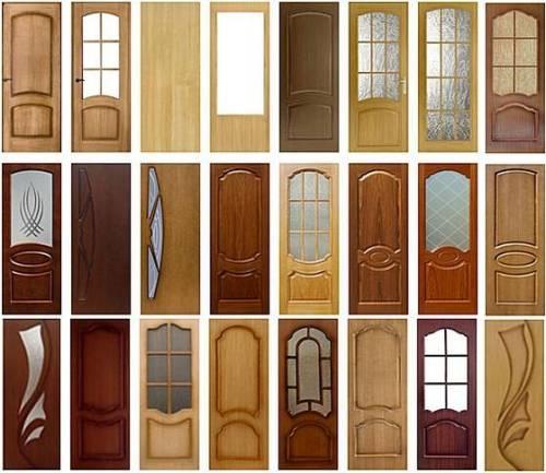 Шпонированные двери что это такое