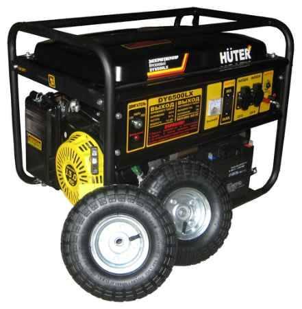 Купить HUTER DY6500LX с колёсами и аккумулятором