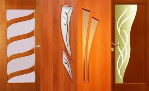 Ламинированные двери - что это такое
