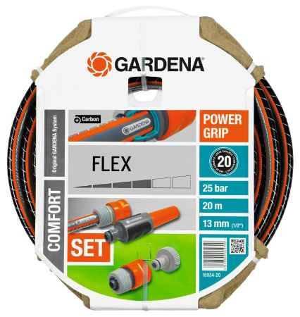 """Купить GARDENA FLEX 9x9 1/2""""х20м, комплект"""