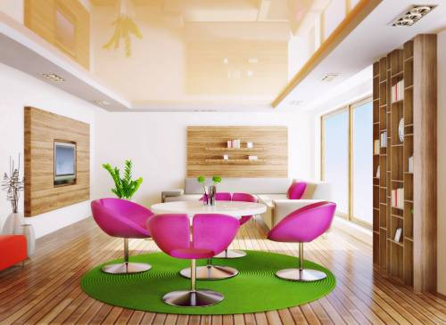 От каких параметров зависит цена натяжного потолка