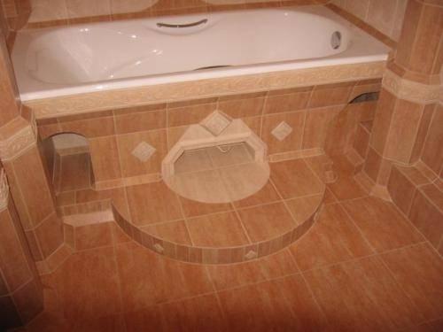 Как положить кафель на пол своими руками в ванной