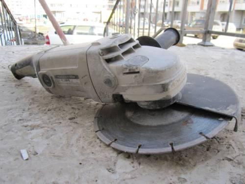 Как резать бетон