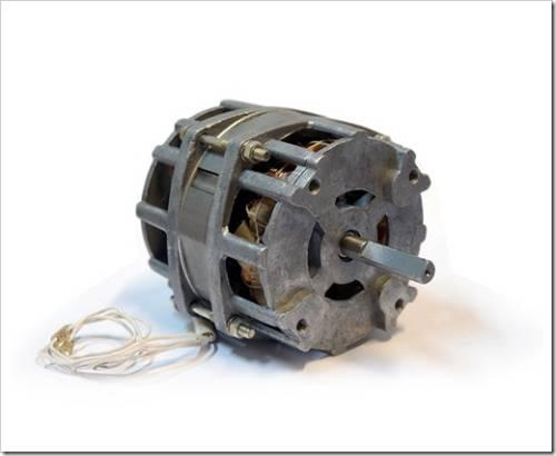 Из каких частей состоит двигатель?