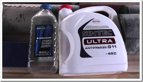 Технологии, которые используются для производства охлаждающей жидкости