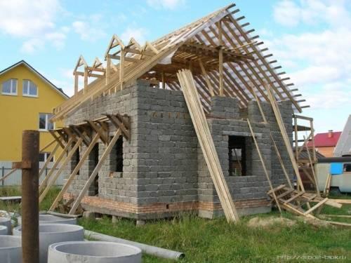 Дом из опилкобетона пошаговая инструкция