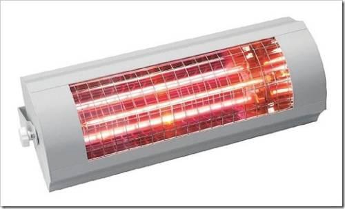 Дополнительное оборудование для использования инфракрасных обогревателей