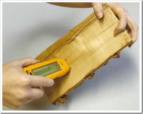 Как осуществлять измерение влажности в дереве?