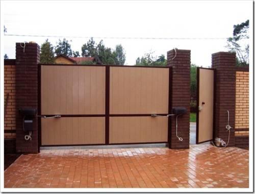 Как выбрать металические ворота