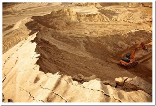 Почему речной песок использовать предпочтительнее?