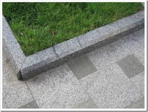 Фиксация бордюрного камня