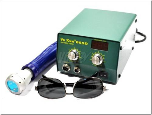 Основные виды используемого паяльного оборудования