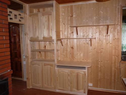 Шкаф для дачи из дерева своими руками