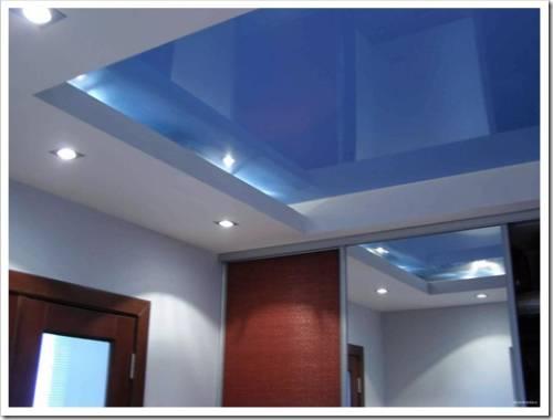 Положительные аспекты использования натяжных потолков