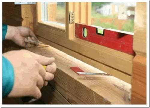 Методики установки деревянных окон