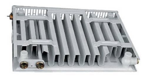 стальной радиатор в разрезе