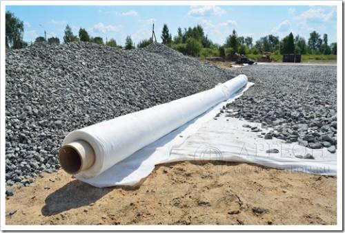Геотекстиль – рулонный материал