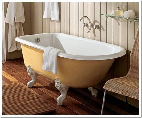 Ванны: различия по материалу