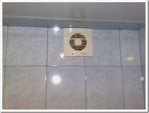 Методика монтажа вытяжного вентилятора в стену