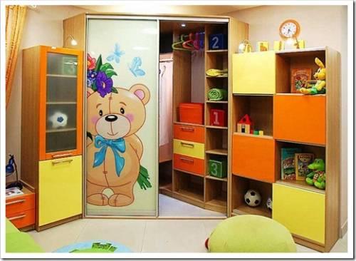 Организация внутреннего пространства комнаты