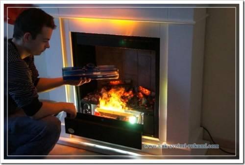 Эффект горения пламени