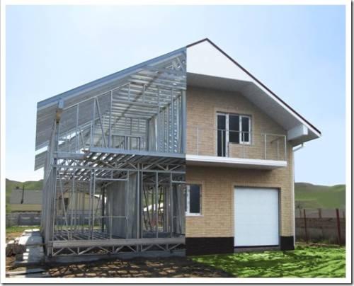 Строительство экологически чистого дома с применением ЛСТК технологии