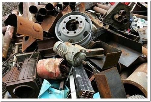 Список рекомендованных к сдаче металлических изделий