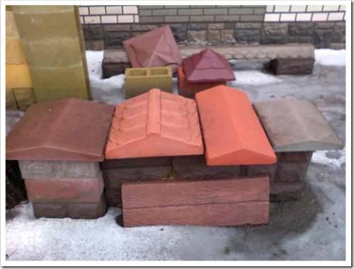 Преимущества использования каменных парапетов на заборах