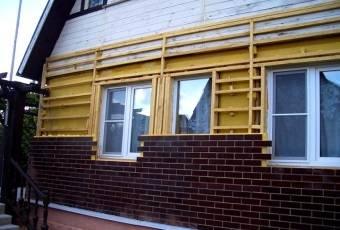 клинкерные панели для деревянного дома