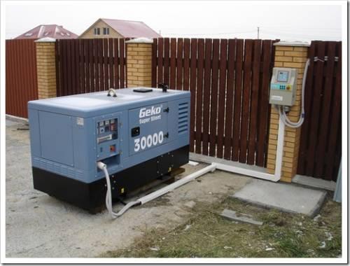 автономный дизельный генератор