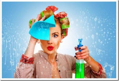 Применение современной бытовой химии в уборке