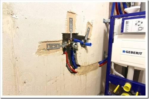 Как выглядит процедура установки смесителя?