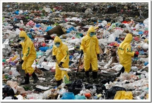 Легальная утилизация мусора