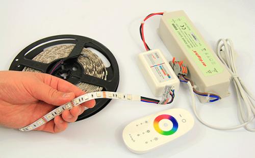 как подключить светодиодную ленту к контроллеру