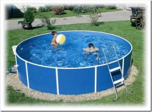 Методика установки бассейна