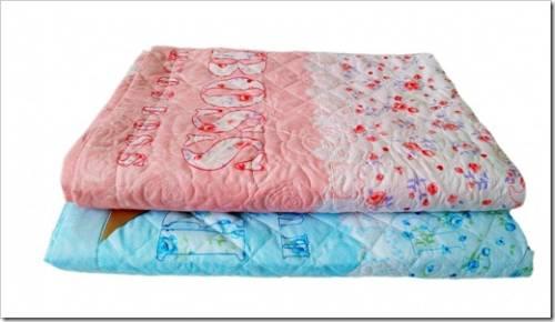 Наиболее распространённые виды наполнителей для летних одеял