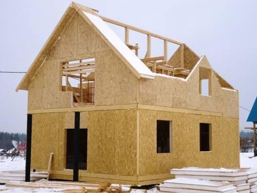как построить самому дом из сип-панелей