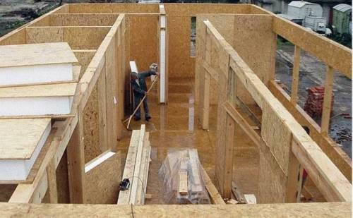 как самому построить дом из сип панелей