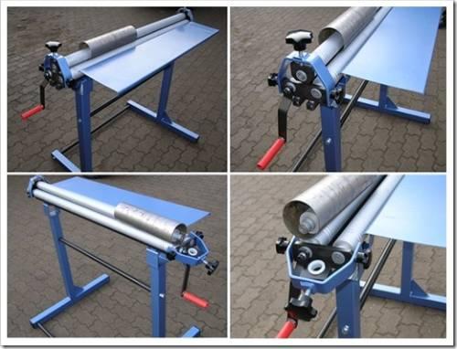 Достаточно лишь установить лист металла, а остальное будет выполнено станком.