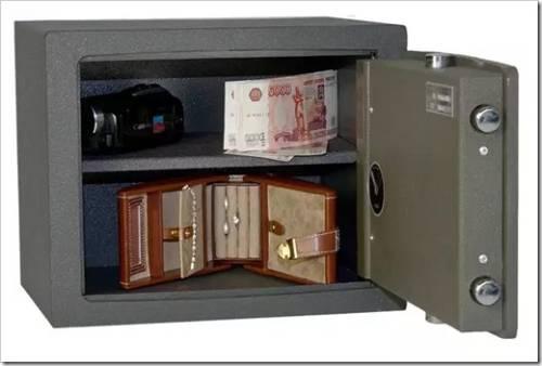 Габариты сейфа, доставка и установка