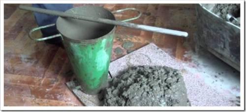 Характеристики бетонной смеси
